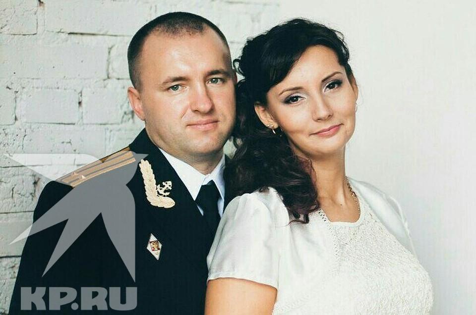 Дмитрий Соловьев с супругой