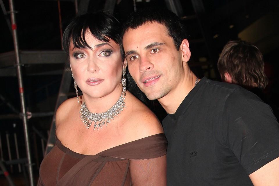 Певица Лолита Милявская с мужем Дмитрием.