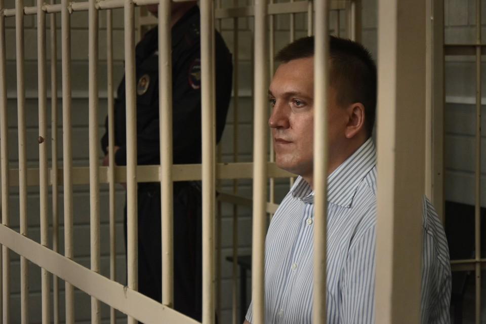 Анатолий Радченко во время вынесения приговора.
