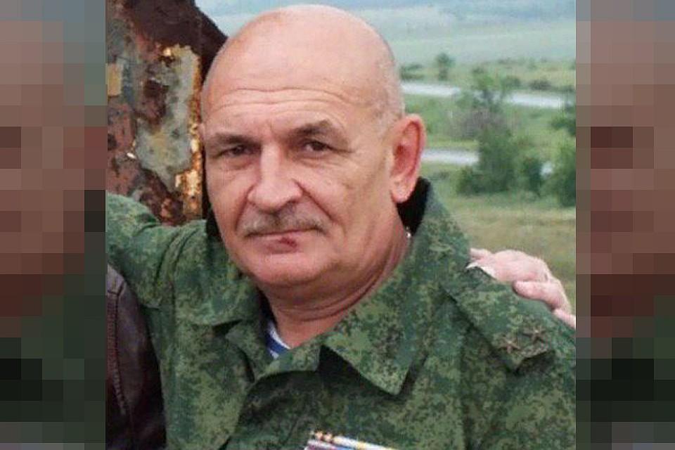 Офицер ПВО ДНР Владимир Цемах.