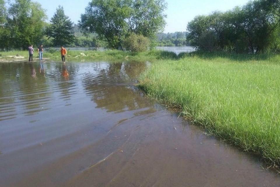 МЧС: уровень воды в реках Иркутской области продолжает снижаться. Фото: соцсети.