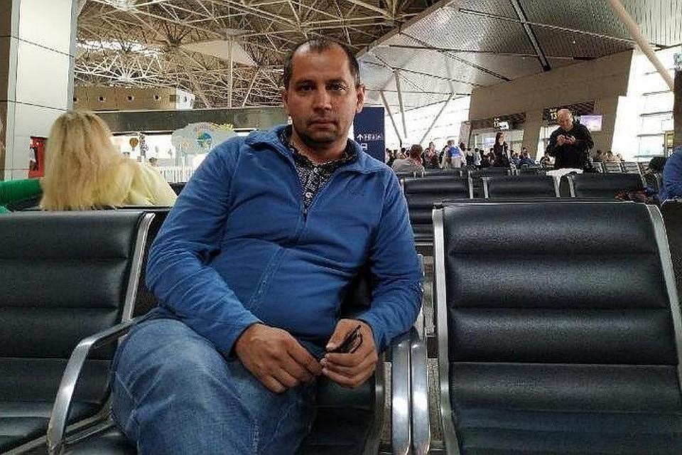 Марата Хайруллина задержали прямо в уфимском аэропорту. Фото: UFA1.RU