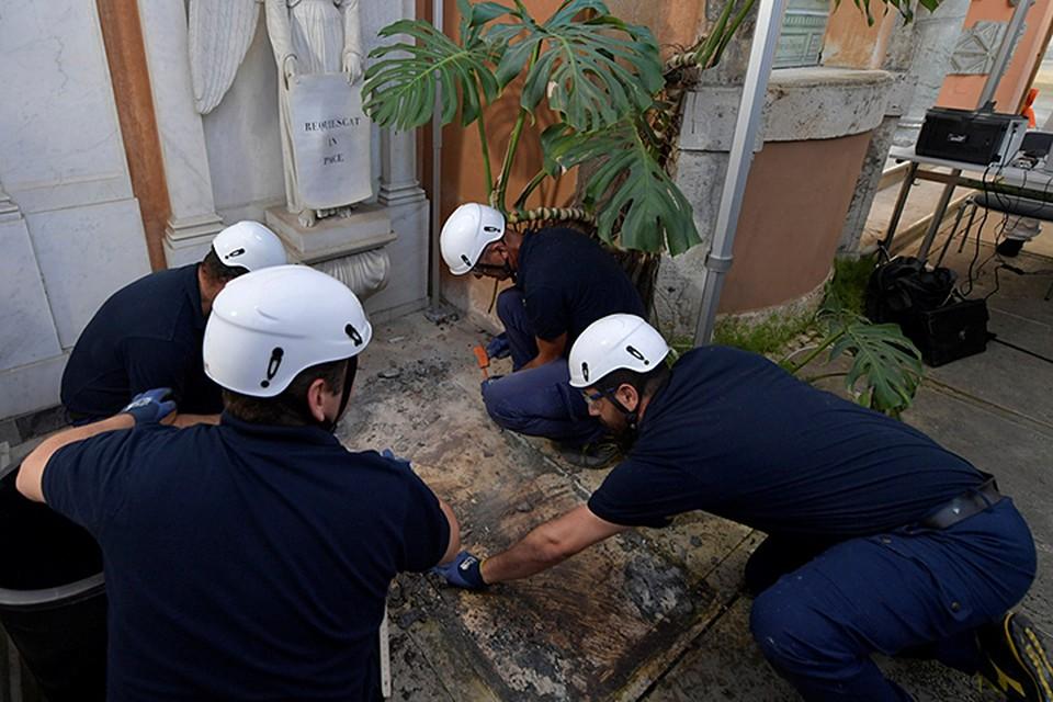 Pуководство Ватикана разрешило вскрыть могилы двух немецких принцесс на Тевтонском кладбище