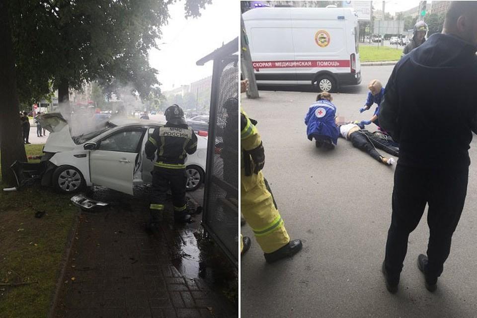 На перекрестке улицы Верности и Гражданского проспекта произошло смертельное ДТП. Фото: vk.com/spb_today