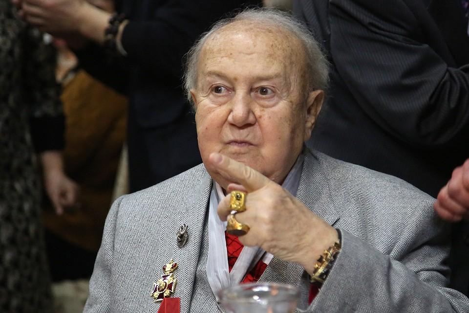 Скульптор Зураб Церетели на праздновании своего 85-летия, январь 2019 г.