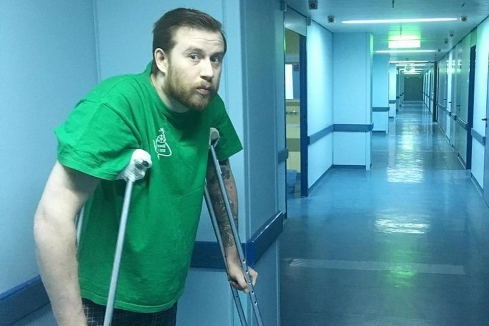 «Спасибо всем, кто верил»: норильчанин, потерявший ногу ради спасения жены, делает первые самостоятельные шаги. Фото: Инстанграм Ивана Клочкова