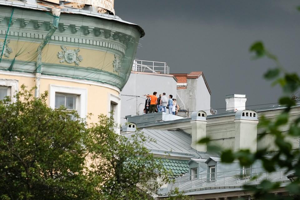 В Петербурге закроют крыши для экскурсий