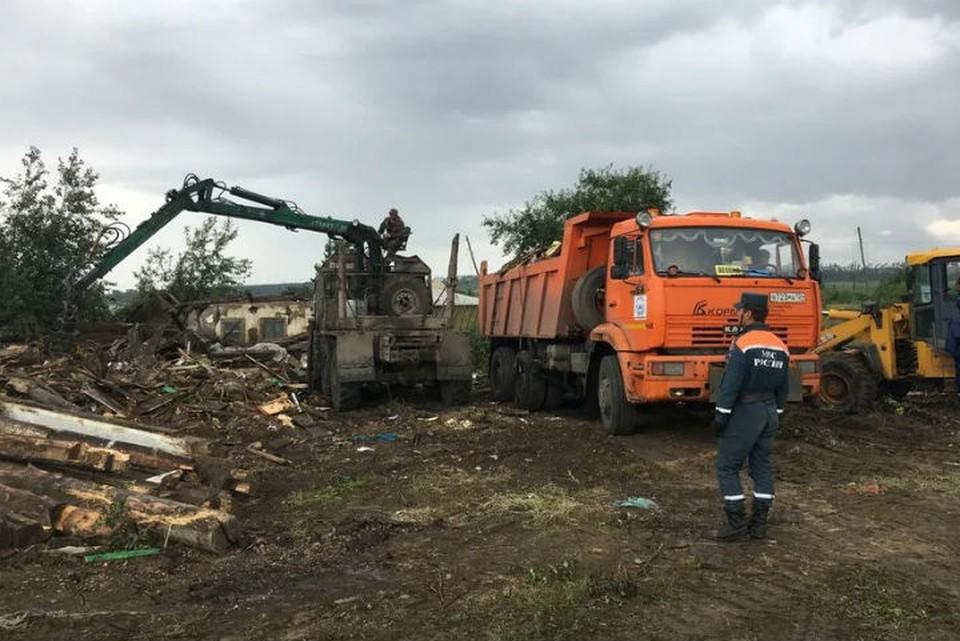 Наводнение в Тулуне: подтопленными остаются 16 домов, дворов и огородов