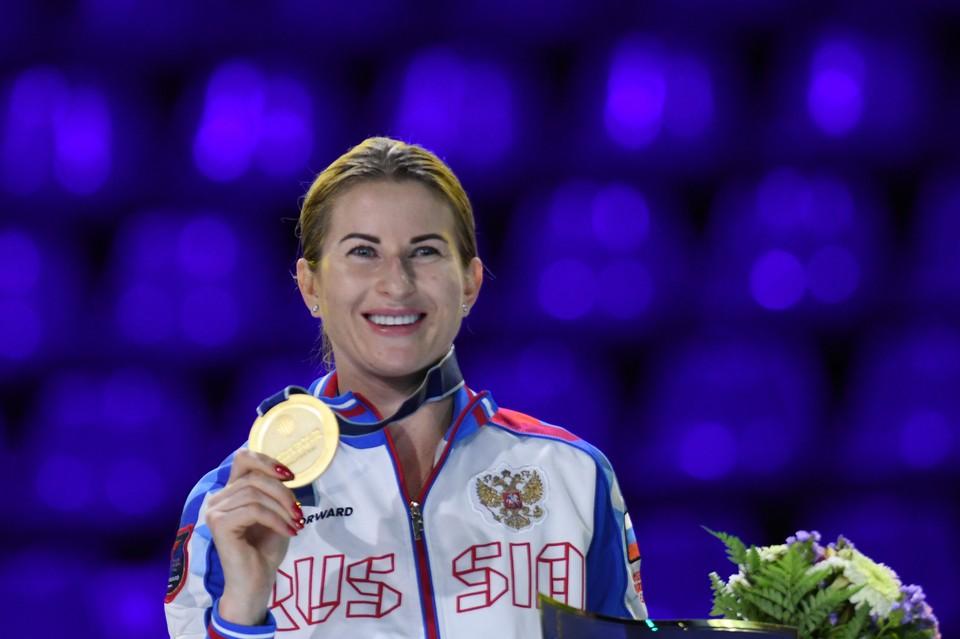 Инна Дериглазова стала шестикратной чемпионкой мира по фехтованию