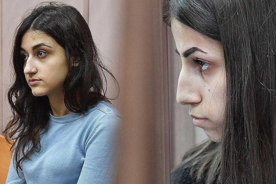 Сестры Крестина и Ангелина Хачатурян