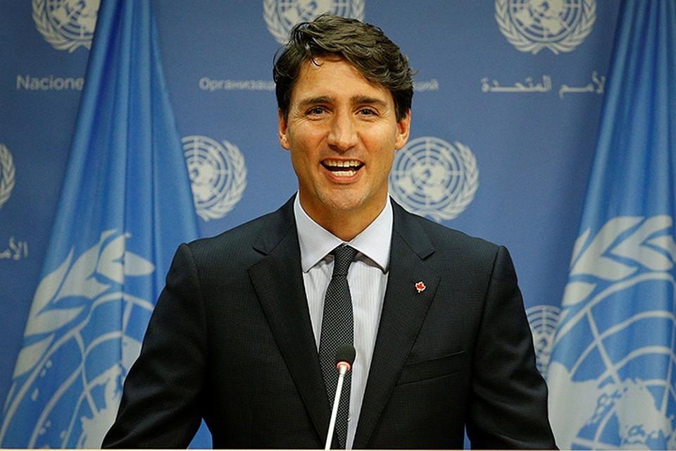 Трюдо заявил о намерении Канады заключить торговую сделку с Великобританией