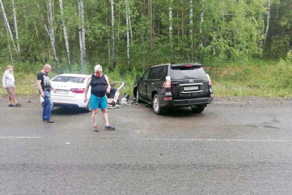 Андрей Косилов выехал на встречную полосу на трассе.