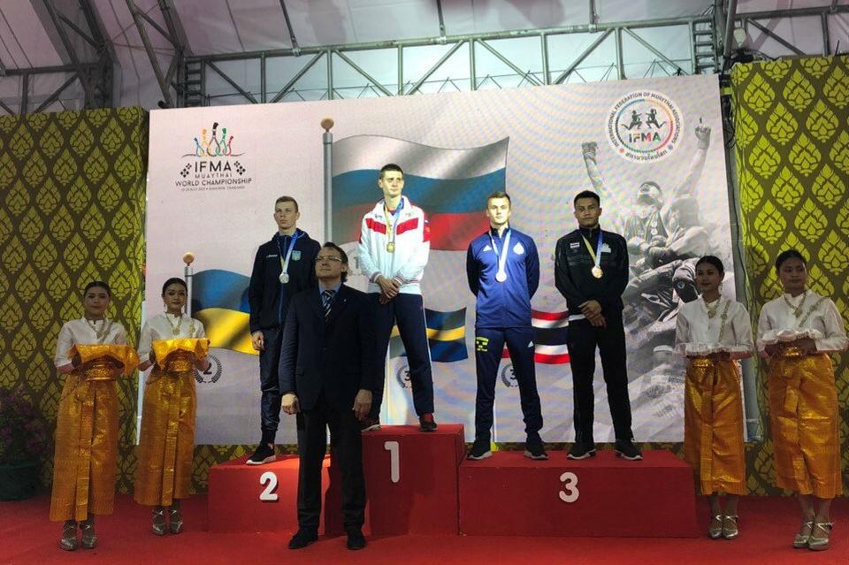 Илья Баланов стал чемпионом мира по тайскому боксу.