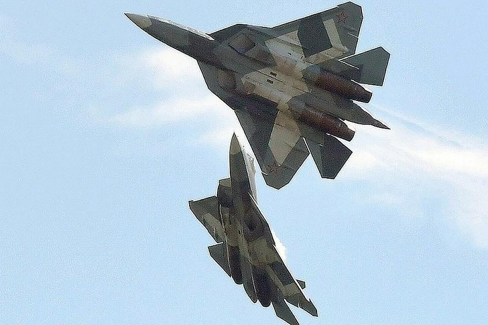 Новейший истребитель пятого поколения Су-57 запущен в серийное производство