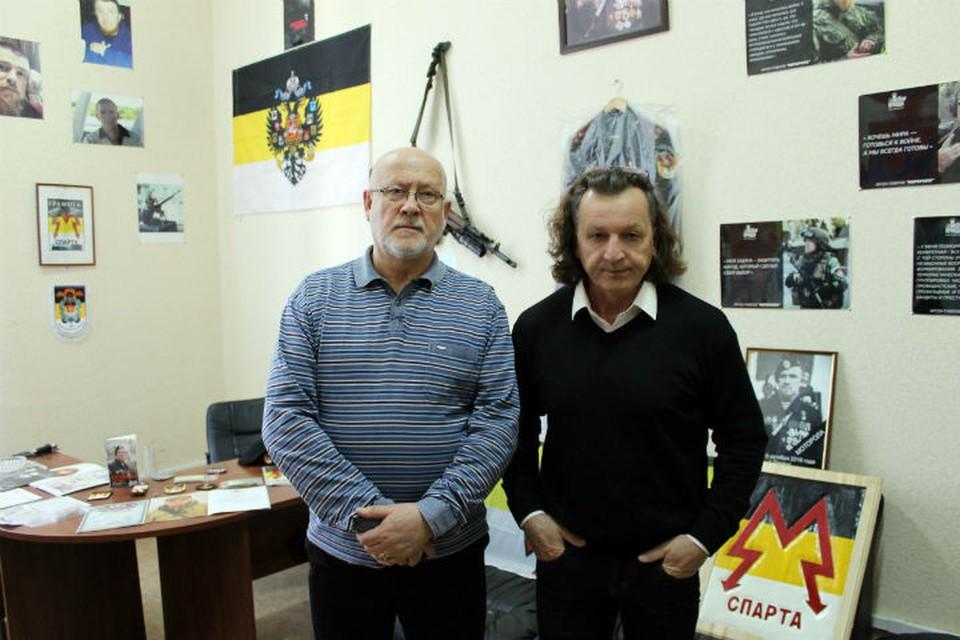 Авторы Андрей Соболев и Владимир Скобцов представят свои произведения о войне и любви
