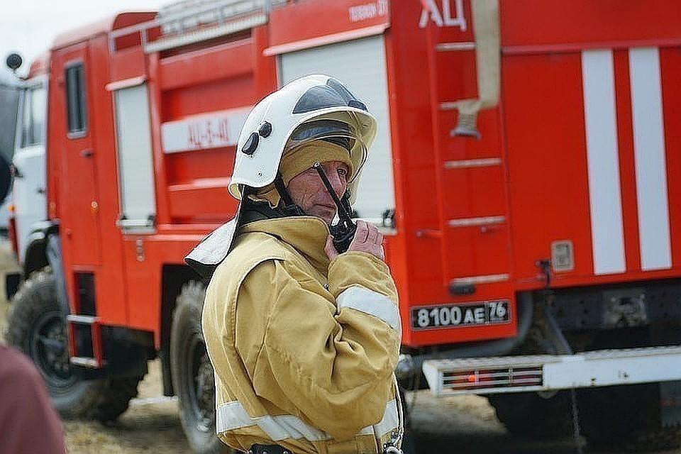 В подмосковном Одинцова локализовали крупный пожар на мебельной фабрике