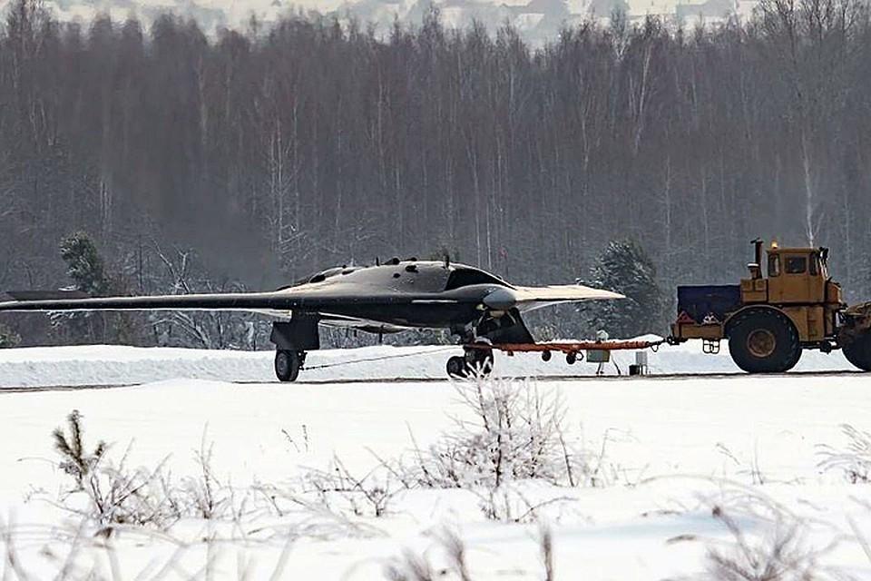Тяжелый беспилотник «Охотник» совершил первый полет. Фото: Википедия