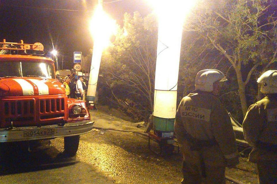 Появилось видео с места аварии с экскурсионным автобусом в Новороссийске. Фото: СУ СК РФ по Краснодарскому краю