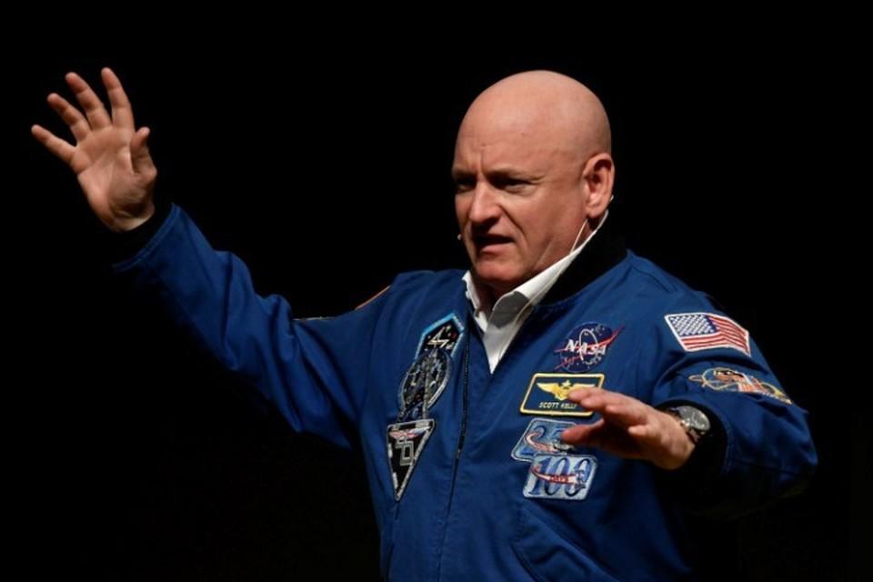 Ветеран космических полетов, экс-астронавт NASA Скотт Келли