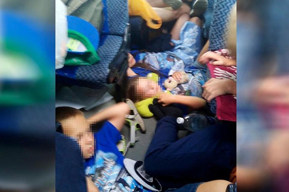 Фото сделала мать одного из ребят, сопровождавшая группу в поездке.