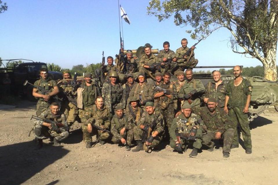 """Август 2014-го, перед выездом на Саур-Могилу. Фото: архив батальона """"Восток"""""""