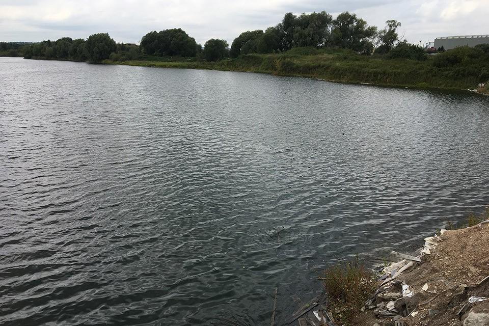 Озеро Глушица. Обещанных местным жителей полчищ чаек тут не обнаружилось.