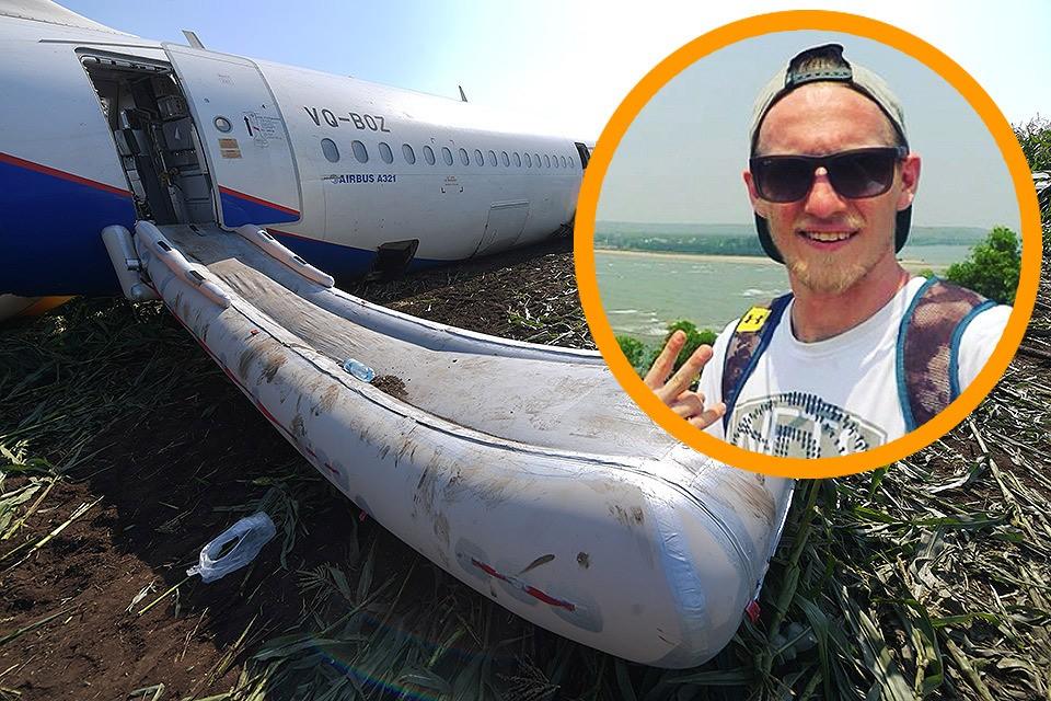 """Один из пассажиров совершившего аварийную посадку рейса Борис Швайгер поделился с """"КП"""" впечатлениями от пережитого."""