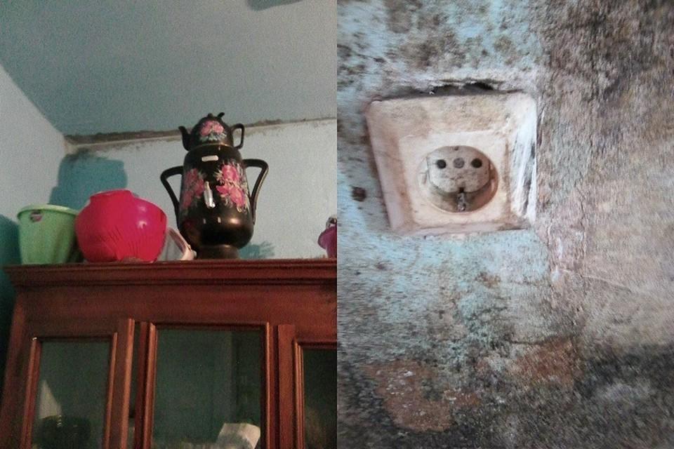 """Жители дома престарелых были вынуждены сделать в здании ремонт за свой счет. Фото: """"Гражданский патруль"""""""