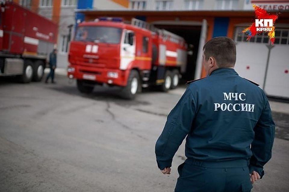 К месту происшествия немедленно выехали сотрудники МЧС и ГИБДД