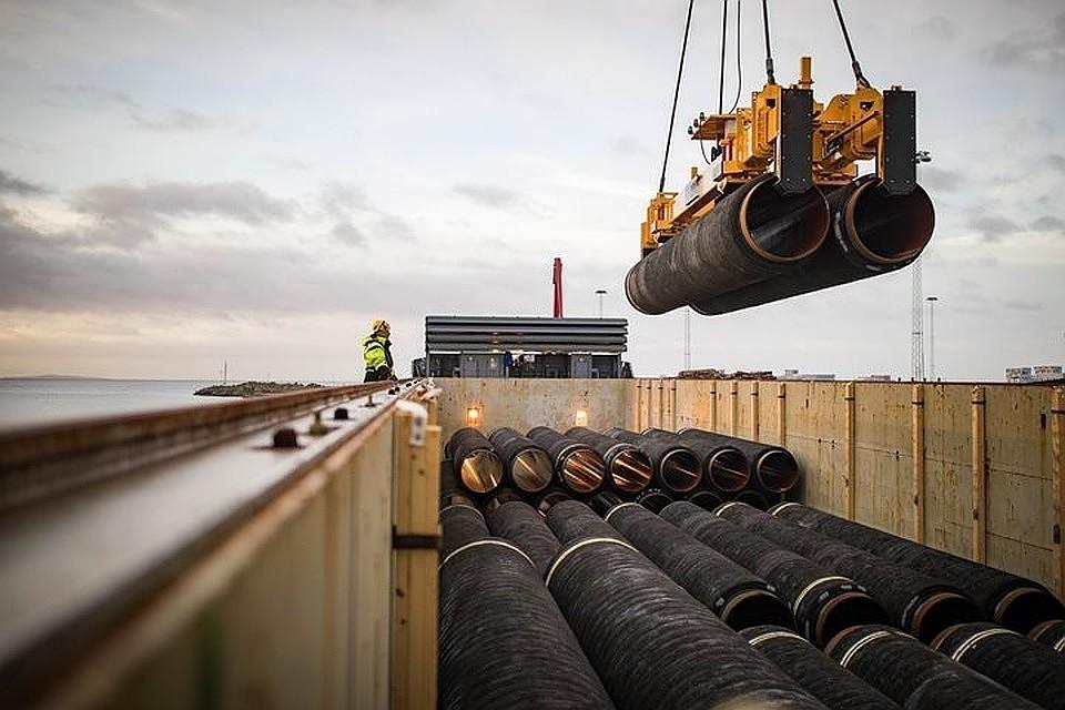 Строительные работы на береговых участках в Германии и России находятся на продвинутом этапе