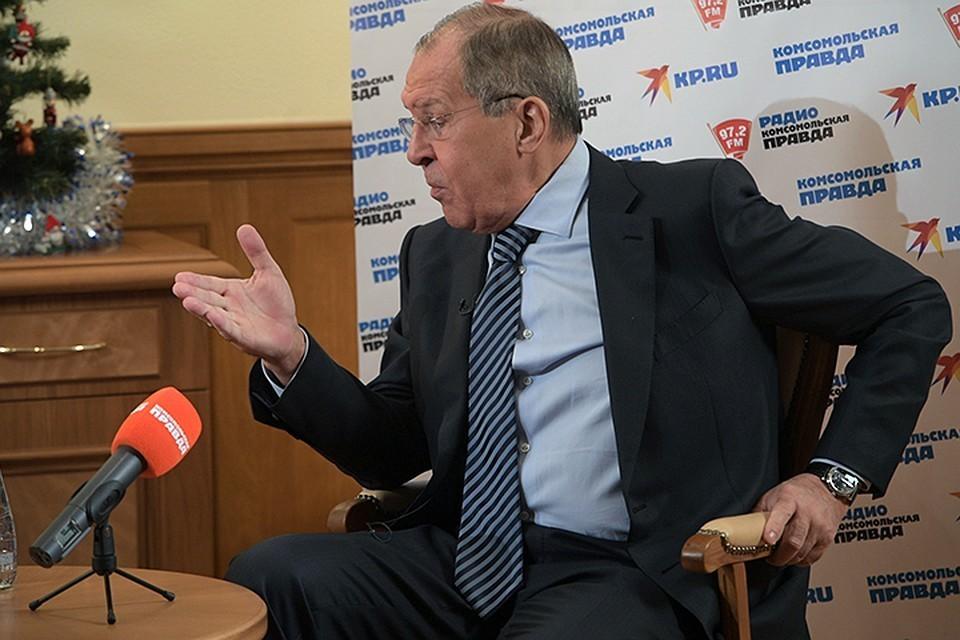 Сергей Лавров напомнил, что не Россия была инициатором дискуссии о возвращении к G8