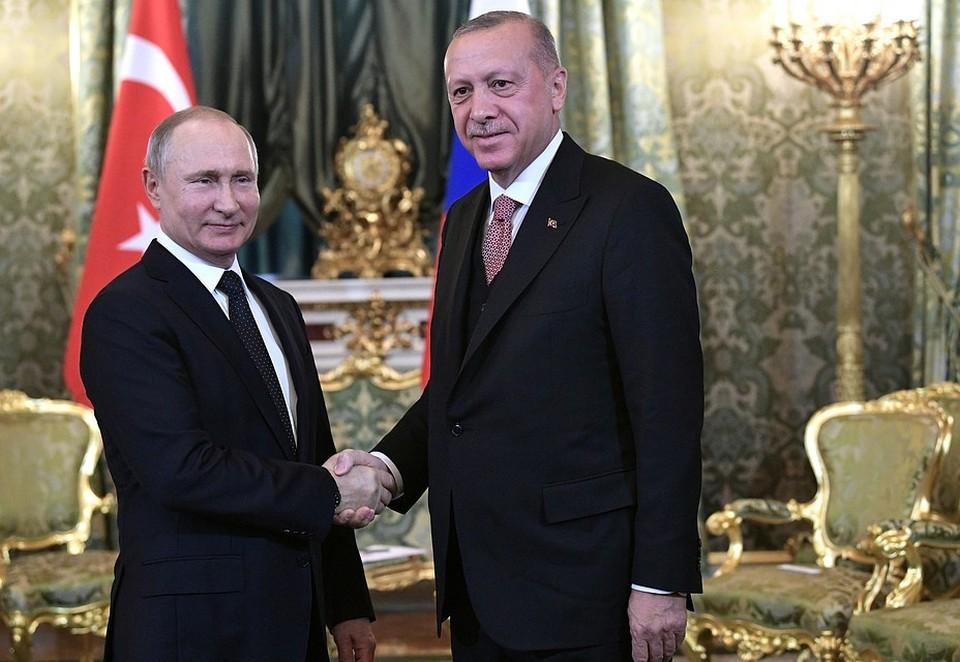 Визит Эрдогана начнется с посещения экспозиции авиасалона