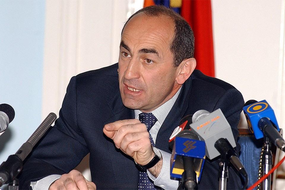 Экс-президент Армении Роберт Кочарян.