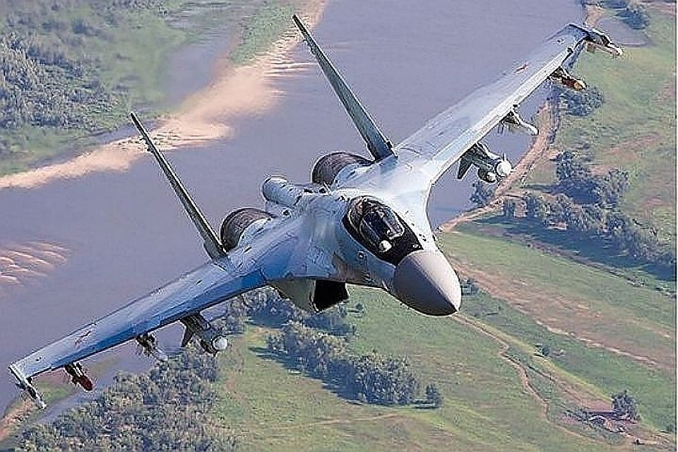 Российский многоцелевой истребитель Cу-35