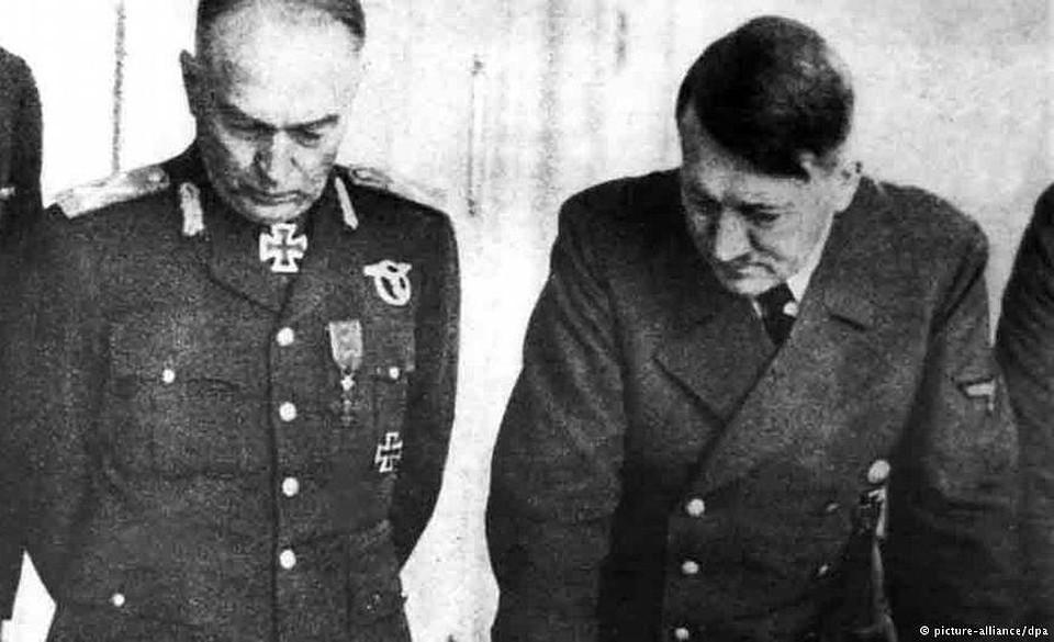 Фашистский диктатор Антонеску