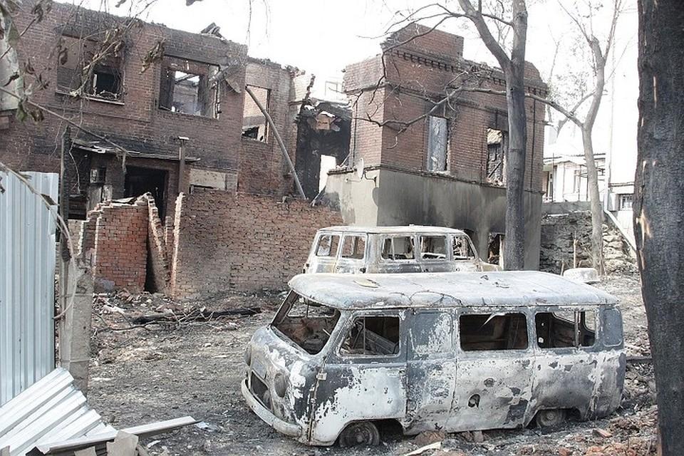Огонь тушили свыше тысячи спасателей и пожарных