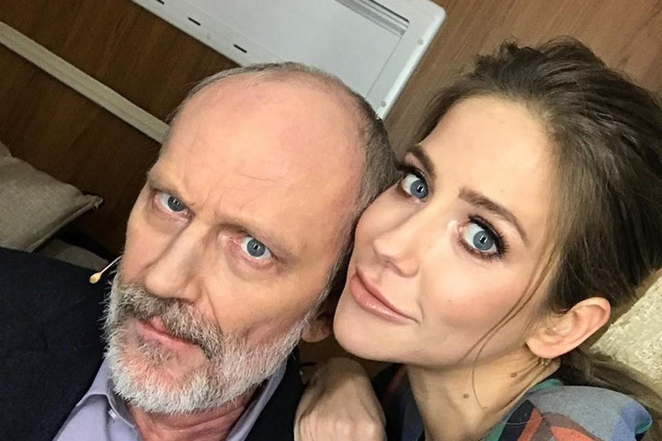 Александра Городона и Юлию Барановскую связывают теплые отношения