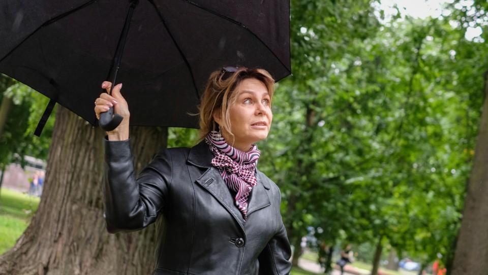 Во Владивостоке дождь
