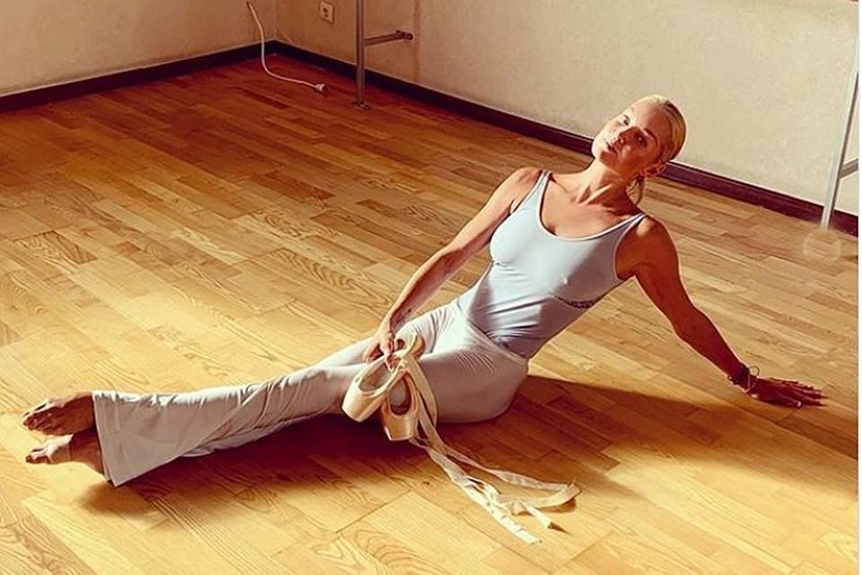 Близкие встревожены тем, как похудела балерина. Фото: Инстаграм.