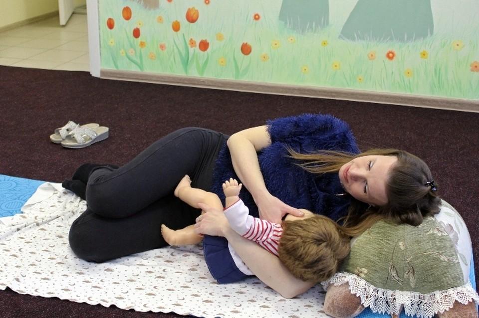 """Обучение могут пройти женщины, кормившие своего ребёнка грудью (Фото: Центр """"Я-МАМА"""")"""
