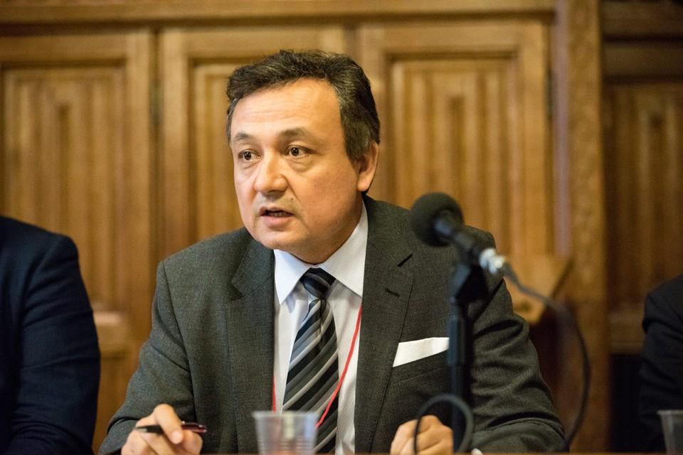 Уйгурский правозащитник Долкун Иса. Фото: Личный архив