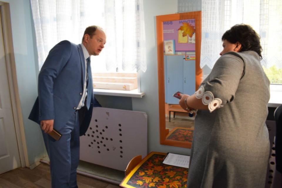 В Иванове подключают тепло в детских садах. Фото: администрация города.