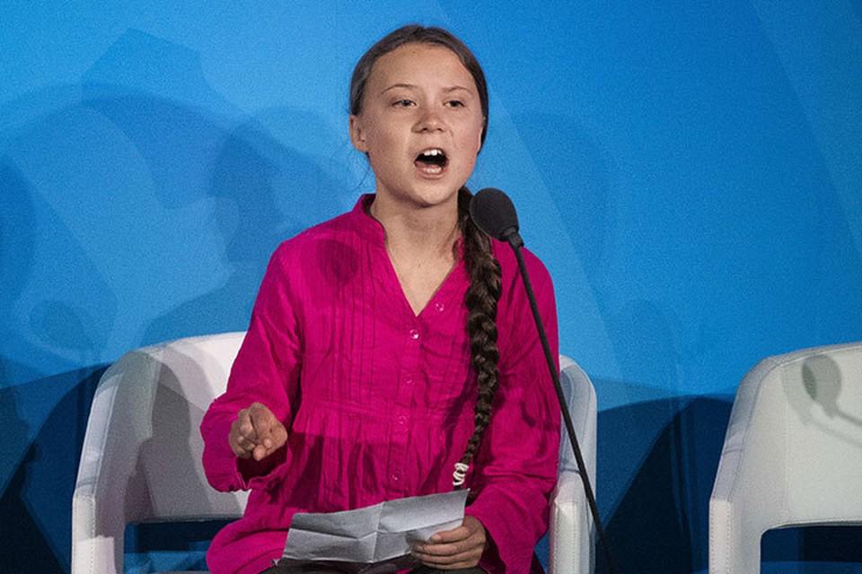 Грета Тунберг стала самым молодым участником Генассамблеи