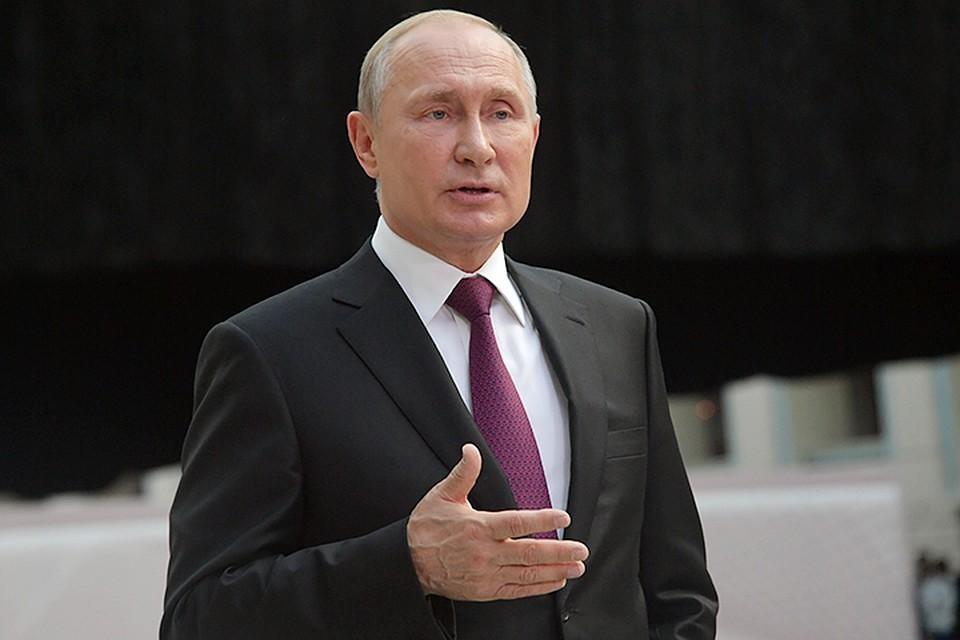 Владимир Путин ответил на вопрос об украинском президенте