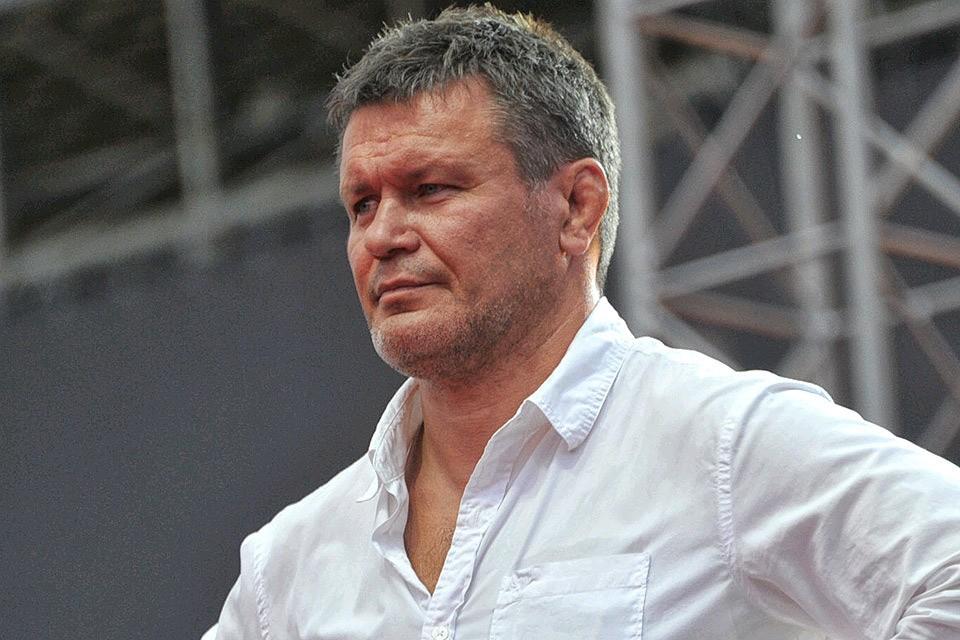 Первый российский чемпион в истории UFC Олег Тактаров.