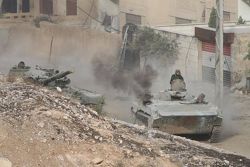 В Минобороны Турции заявили, что турецкие военные начали наземное наступление в Сирии