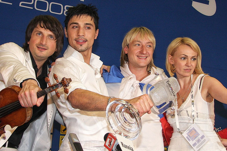 2008 год, триумф Димы Билана на Евровидении в Белграде.