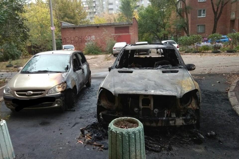 ЧП произошло в центре города в три часа ночи. Фото: vk.com/donetsk