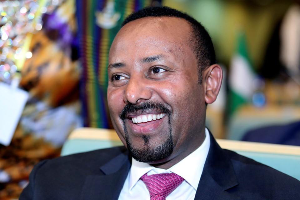Премьер-министр Эфиопии Абий Ахмед Али.