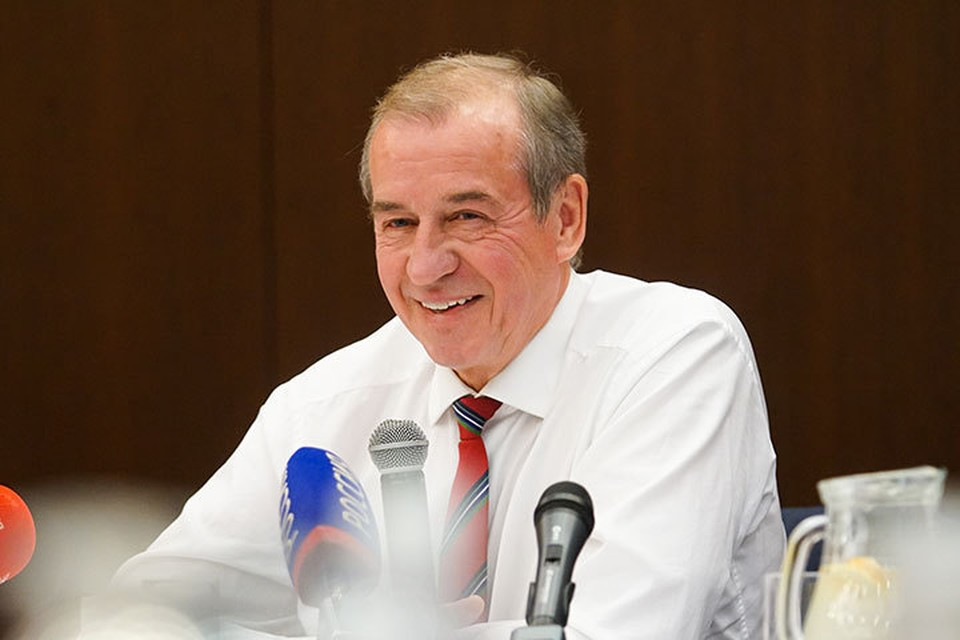 Глава региона сообщил, что к концу октября этого года будет издана его книга «Государство развития». Фото: Пресс-служба правительства Иркутской области